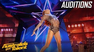 Sienna Smashes It With Her Warrior Routine | Auditions | Australia's Got Talent 2019