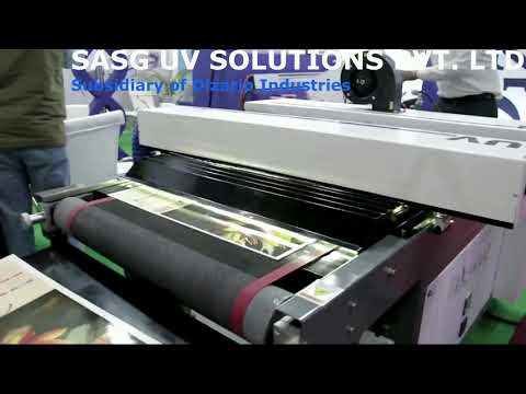 Roller Coater with dryer Machine