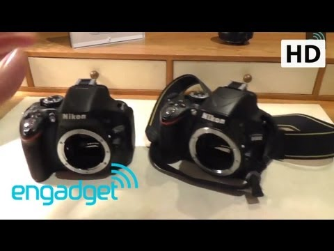 Nikon D5200 Hands On | Engadget