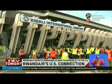 RwandAir granted permission to fly direct to the US