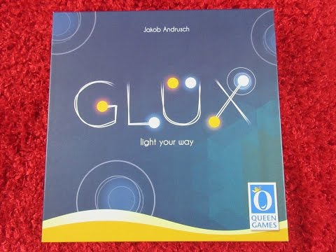 Glux (an area control game) with Nettersplays