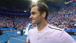 Roger Federer on-court interview (Final) | Mastercard Hopman Cup 2018
