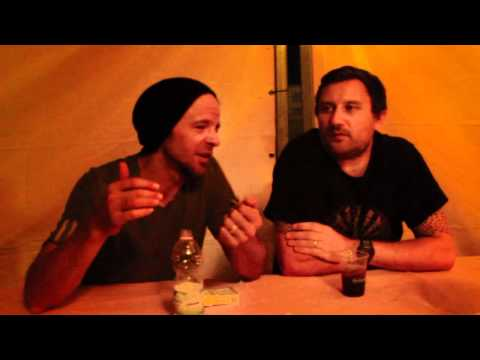 Pendulum Interview @ Albizzate Valley Festival 2012
