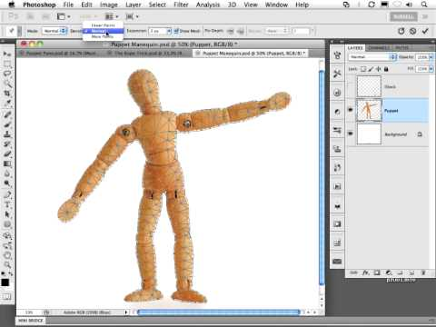 Photoshop's Upcoming Puppet Warp Feature Has A Twist