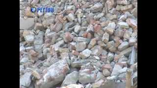 Руины днепропетровского крематория