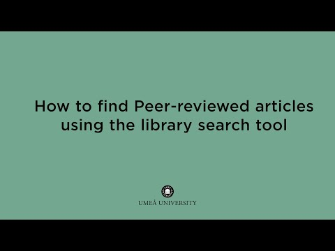 Film: The library search tool