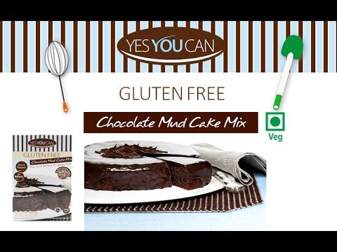 [How to bake] YesYouCan Choc Mud Cake Mix (Vegetarian) - Gluten free