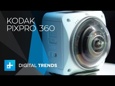 Kodak Pixpro 360 Orbit at CES 2018