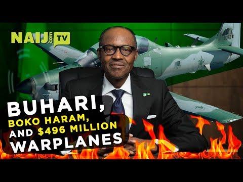 Buhari Warplanes Cost Nigeria 496 Million US Dollars | Legit TV