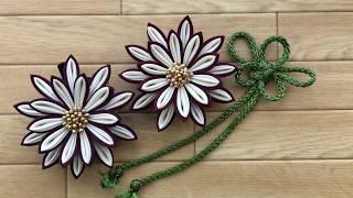 つまみ細工 Kanzashi Flower 着物髪飾り 浴衣髪飾り作り方