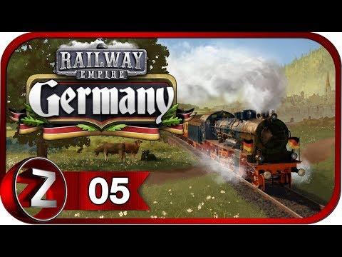 Railway Empire: Germany DLC ➤ В ногу с будущим ➤ Прохождение #5