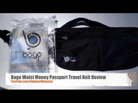 Bago Waist Money Passport Travel Belt Review