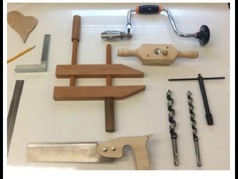 Parallelschraubzwinge ohne Maschinen selbst machen, make a Handtool only with Handtools Diy