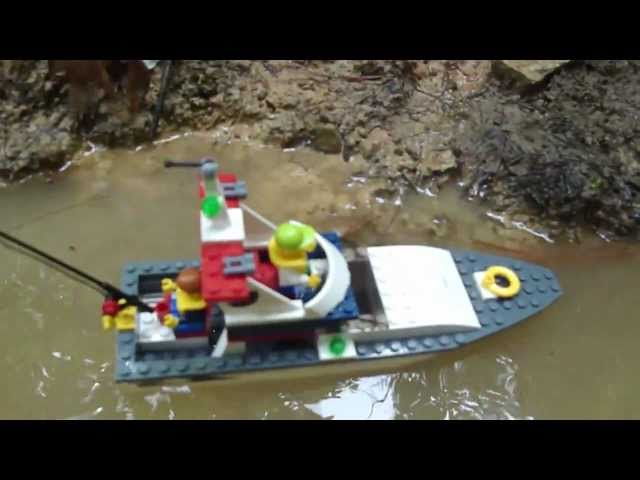 LEGO City Fishing Boat Review: Set 4642