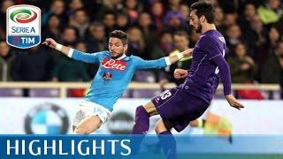 Fiorentina - Napoli 1-1 - Highlights - Matchday 27 - Serie A TIM 2015/16