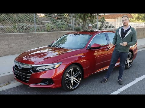 2021 Honda Accord Hybrid Test Drive Video Review