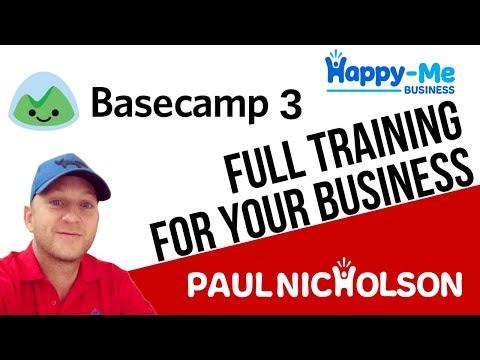 Basecamp 3 Full Training Introduction - YouTube