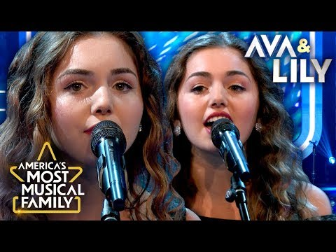 """Ava & Lily's Perfectly In-Sync Performance of """"What If I Never Get Over You"""" by Lady Antebellum"""