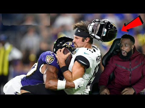 KNOCKED THEIR HELMETS OFF!  Crazy NFL Knocked Out Hits