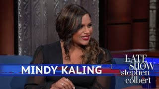 Mindy Kaling Liked Stephen's Baby Gift... But Not As Much As Oprah's