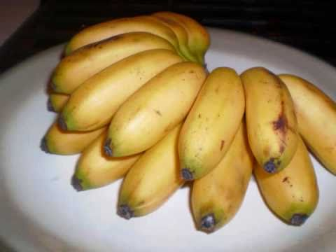 boil and fry bananas with saltfish