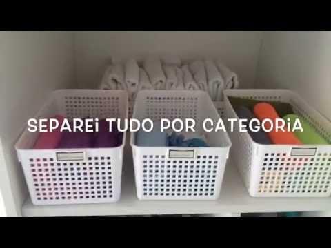 CESTOS ORGANIZADORES - Para Produtos de Limpeza
