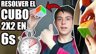 🔥6 SEGUNDOS Para Resolver El CUBO DE RUBIK 2x2 FÁCIL!🔥