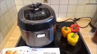 Bosch MUC88B68DE Multikocher AutoCook - Kochen (gefüllte Paprika) deutsch
