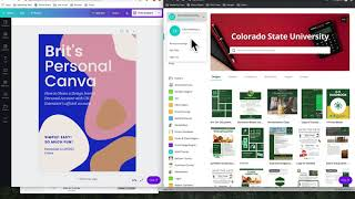Sharing Designs Between Accounts in Canva