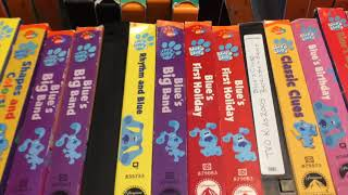My Blues Clues VHS/DVD Collection