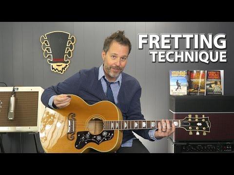 Basic Fretting Technique For Beginner Guitar Players