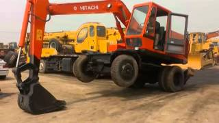 preview picture of video 'For Sale: Hitachi Wheel Excavator WH03D'