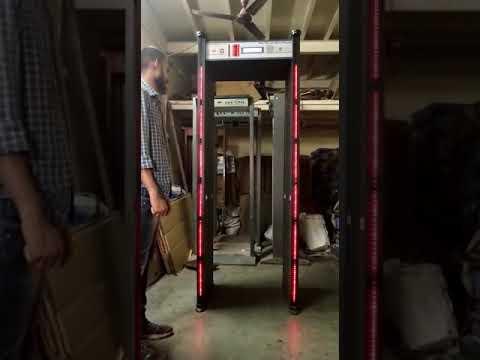 Dual Zone Metal Detector