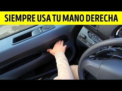 Abrir La Puerta De Tu Auto Con La Mano Derecha Puede Salvar Vidas