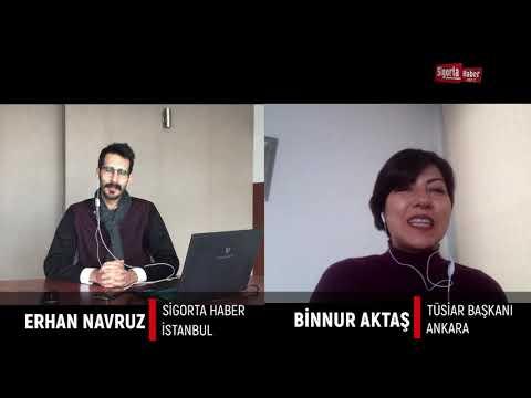 Sigorta Haber Yılbaşı Serisi, Konuğumuz; TÜSİAR Başkanı Binnur AKTAŞ...