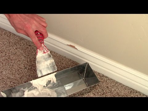 Repair Damaged Skirting Boards Yourself Instead Of Replacing Them