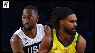 USA vs Australia - Full Game Highlights   August 24, 2019   USA Basketball