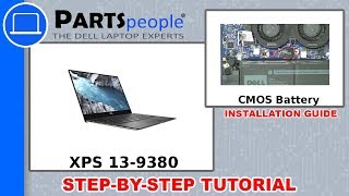 Dell XPS 13-9380 (P82G002) CMOS Battery How-To Video Tutorial