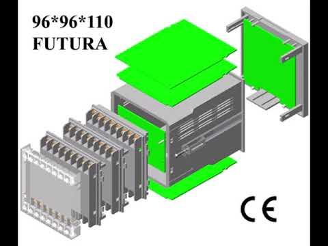 96x96x110 DIN Panel Case FUTURA