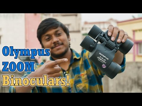 Olympus 8-16×40 Zoom dps-i Binoculars Unboxing & Full Review!