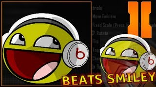 Black Ops 2 - Smiley / Happy Face w/ Dre Beats Headphones Emblem Tutorial