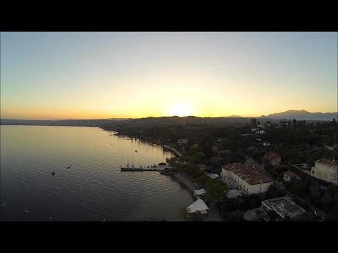 Aerial Video Of Lake Garda, Italy