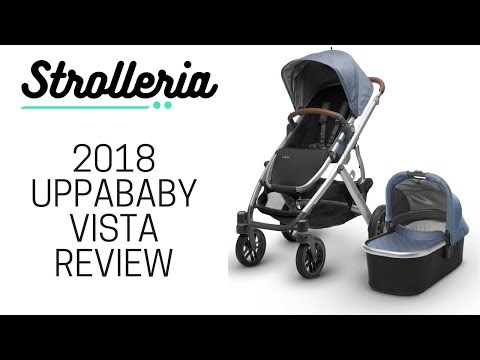 2018 UPPAbaby VISTA Review | Stroller, Double Stroller, Fold, Configurations, Compatible Car Seats