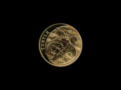 Video - Niue Schildkröte Gold - 2019