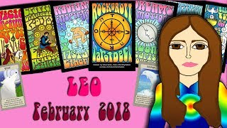LEO FEBRUARY 2018 Tides are Turning! - Eclipse! Tarot psychic reading forecast predictions