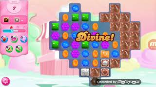 Candy Crush Saga Level 3189 No Boosters