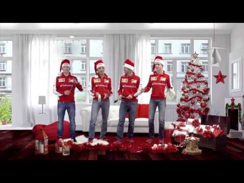 Image: F1 Flashback: Ferrari drivers sing Merry Christmas with Raikkonen on the triangle!