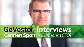 Lufthansa-Chef Spohr hofft auf baldige Tarifeinigung mit Piloten