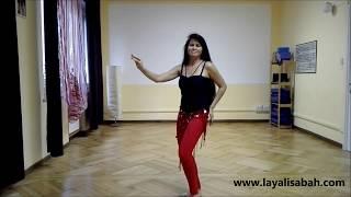 Danza del ventre online - Coreografia Pop Romantico per principianti 2° parte!