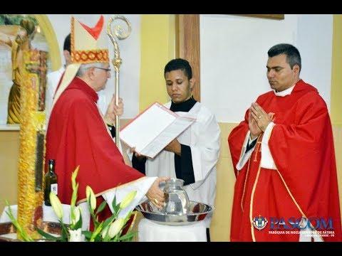 Padre Tiago Macêdo assume a Paróquia de Barra de Santa Rosa
